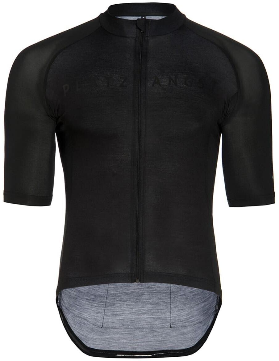 Platzangst Zip Jersey Black