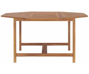 vidaXL Garden Table in Teak 150 x 150 cm
