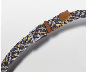 Bugatti Herren-gürtel (1761) blau-gelb