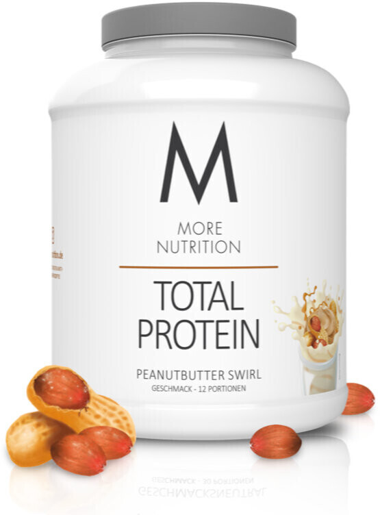 More Nutrition Total Protein 600g (42066653) peanut butter