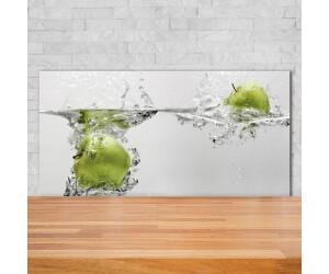 Küchenrückwand Spritzschutz aus Glas 125x50 Deko Essen /& Getränke Früchte Wasser