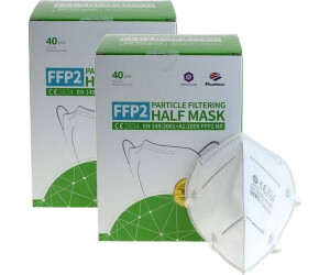 AccuCell FFP2 Schutzmaske EN149:2001+A1:2009 (80 Stk.)