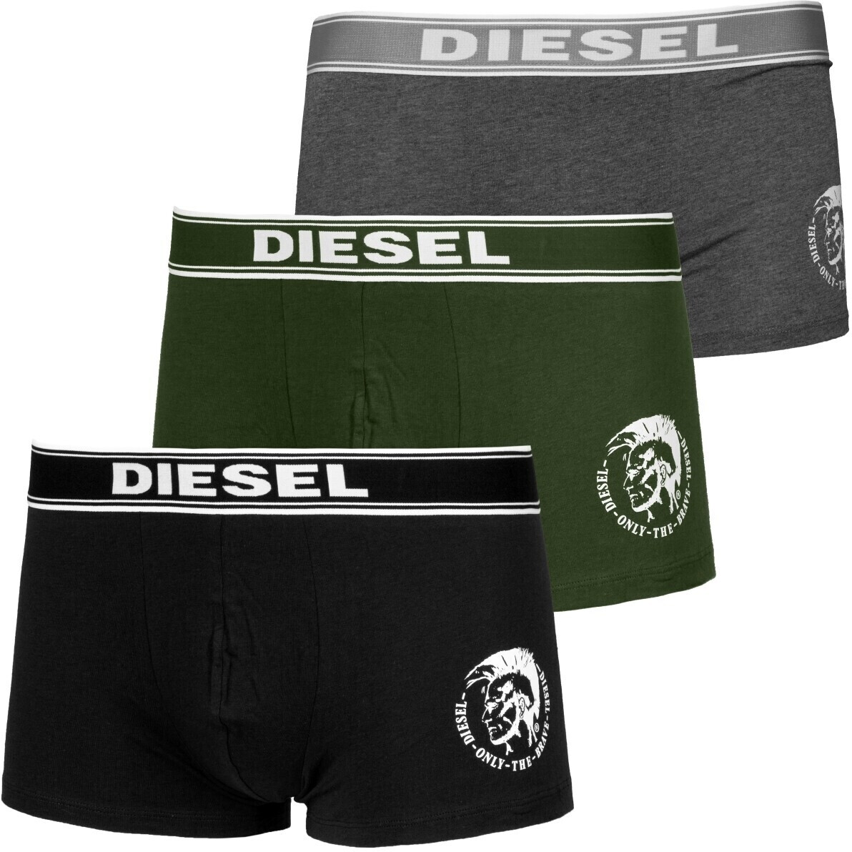 Image of Diesel 3-Pack Shawn black/grey (00SAB2-0TANL-E5239)