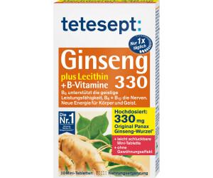 Tetesept Ginseng 330 Mini-Tabletten (30 Stk.)