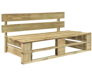 vidaXL Pallet Bench in Pine