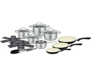 Elo Meine Küche Topf-Set 15-teilig silber