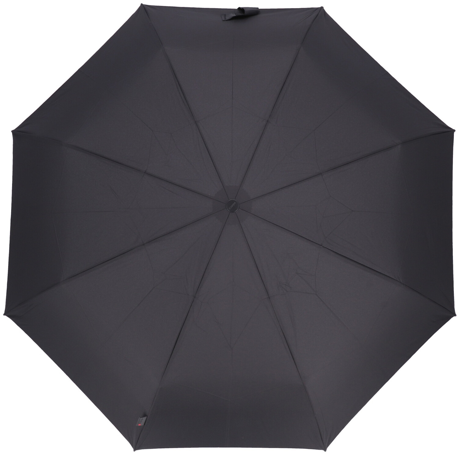 uni black Unisex Taschenschirme Knirps Taschenregenschirm T.301 Large Duomoatic