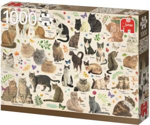 Jumbo Katzen Poster - 1000 Teile (18595)