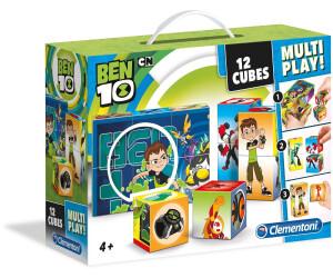 Clementoni Würfelpuzzle - Ben 10, 12 Teile (41507)