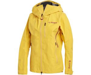 Image of Adidas Women Terrex Techrock GORE-TEX PRO Rain Jacket (GK3167) active gold