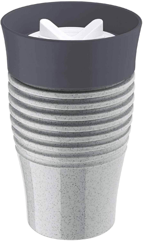 Koziol Thermobecher SAFE ToGo Becher 400 ml  schwarz