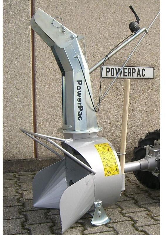 PowerPac Schneefräse für Einachser MF3