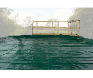 Weka Abdeckplane für Pool (714 x 376 cm) grün