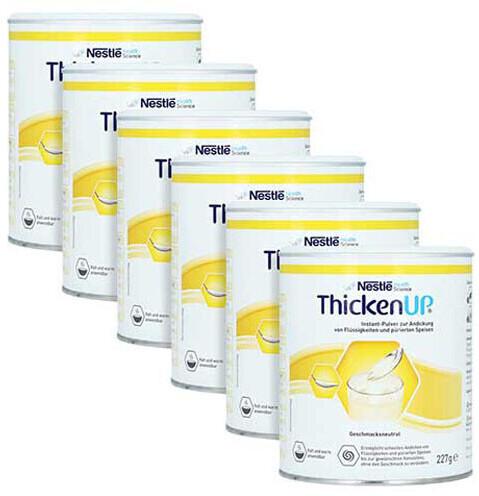 Nestlé Nutrition ThickenUp Geschmacksneutral Pulver (6 x 227g)
