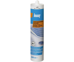 Knauf Bauprodukte Acrylwannen-Silikon (weiß)