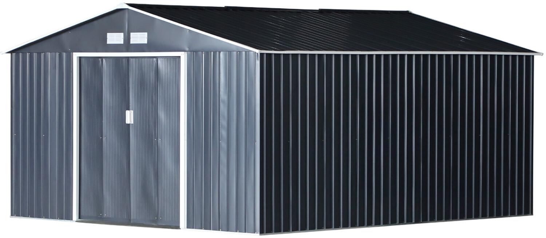 Outsunny Gartenschuppen 340 x 382 cm