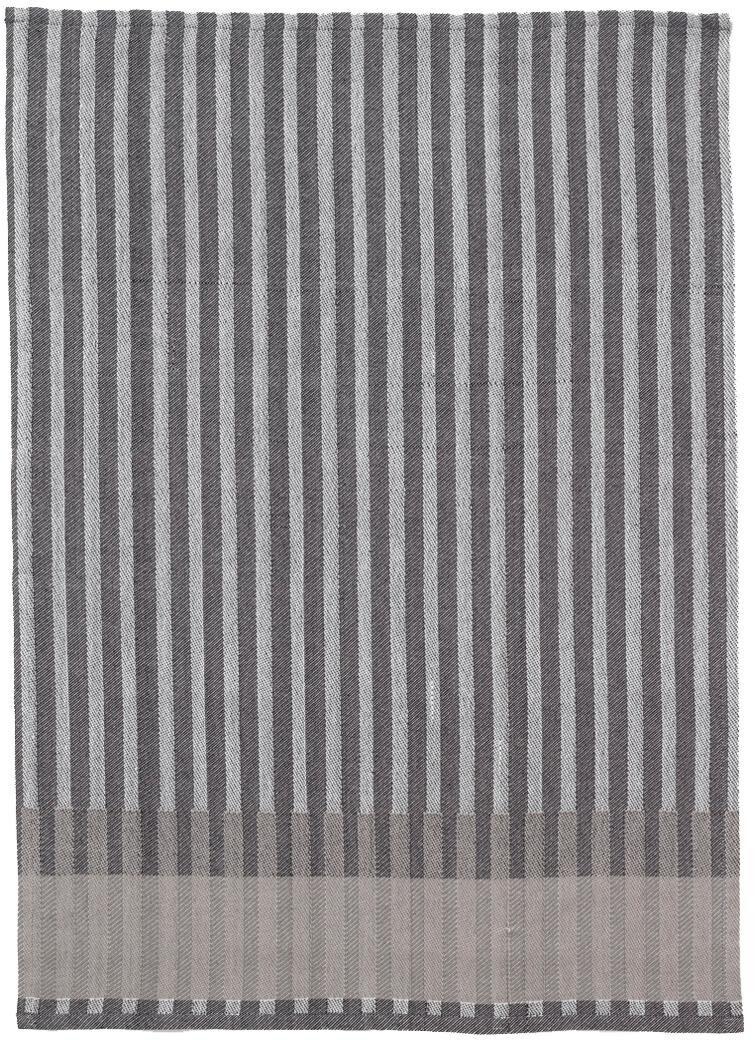 Ferm Living Grain Jacquard Geschirrtuch grau waschbar bei 40°C/LxB 70x50cm