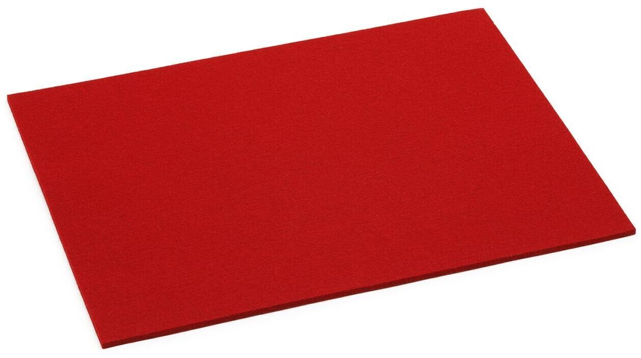 HEY-SIGN Tischset rechteckig rot