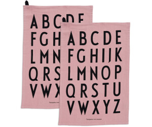 Design Letters Classic Geschirrtuch, lavendel (2er-Set)