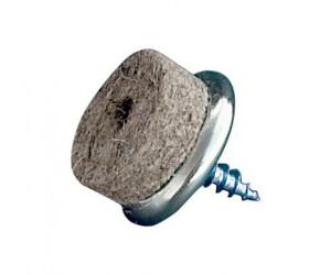 homeXpert 16 Stück Möbelgleiter Filz zum Schrauben, Filzgleiter, Stuhlgleiter, Ø 20/17 mm, für Hartböden