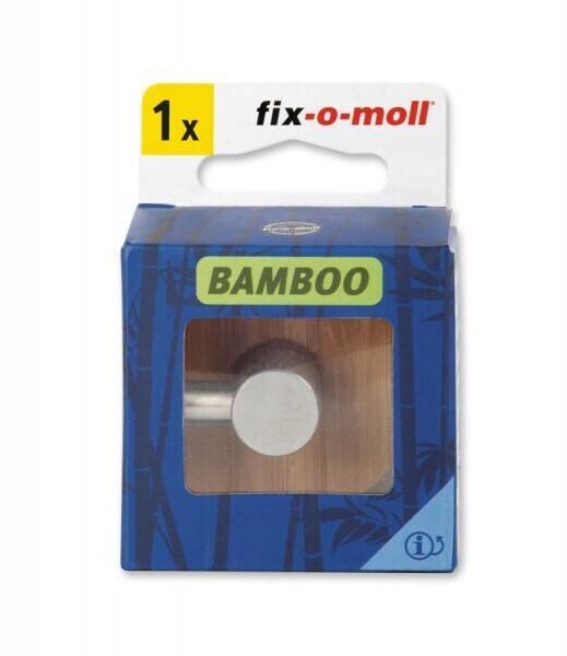 Fix-o-moll Haken Bamboo selbstklebend