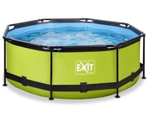 Exit Toys Rahmenpool Ø 244 x 76 cm grün (30.12.08.40)