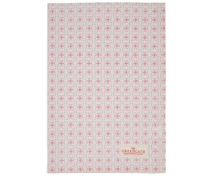 Greengate Harper Geschirrtuch pale pink 50 x 70 cm (rosa)
