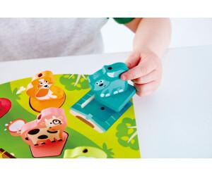 Hape Bauernhof-Geräusche-Puzzle, 7 Teile (E1614)
