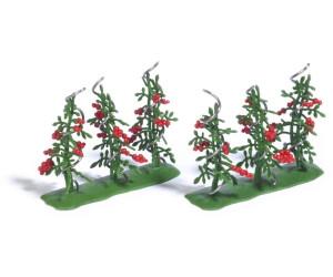 Busch Modellbahnzubehör - 6 Tomatenpflanzen (1239)