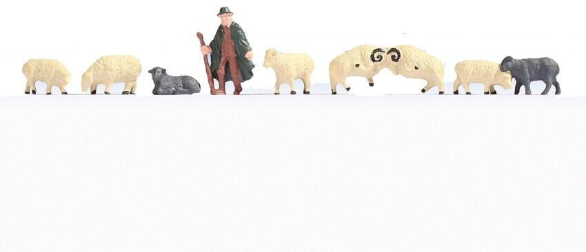 Noch Schäfer und Schafe (18210)