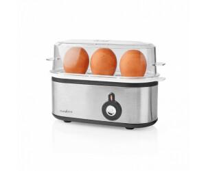Nedis für 3 Eier mit Messbecher und Warnsignal (210 W)