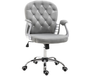 HomCom Bürostuhl 60,5 x 59,5 x 95-105 cm grau (921-169)