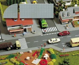 Busch Modellbau - Gehwegplatten (6029)