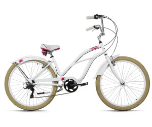 KS Cycling Beachcruiser Splash (white)