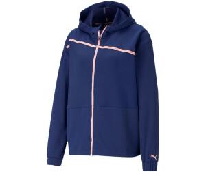 Puma Train Logo Ultra Knit Jacket Women (520289) elektro blue/hazy blue