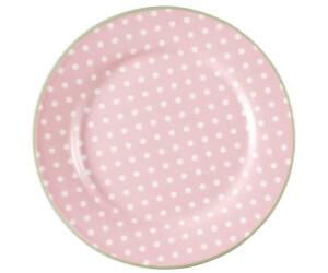 Greengate Teller Spot pale pink (20,5 cm)