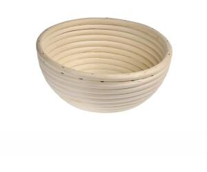 Küchenprofi Gärkorb Brotform aus Peddigrohr rund 18 cm