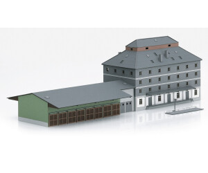 Märklin Bausatz Raiffeisen Lagerhaus mit Markt (M89705)