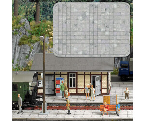 Busch Modellbau - Gehwegplatten (10400)