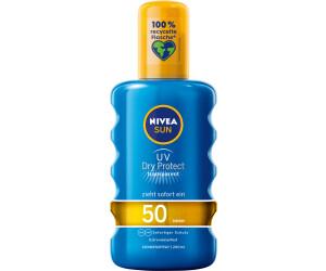 Nivea UV Dry Protect transparentes Sonnenspray LSF50 (200ml)