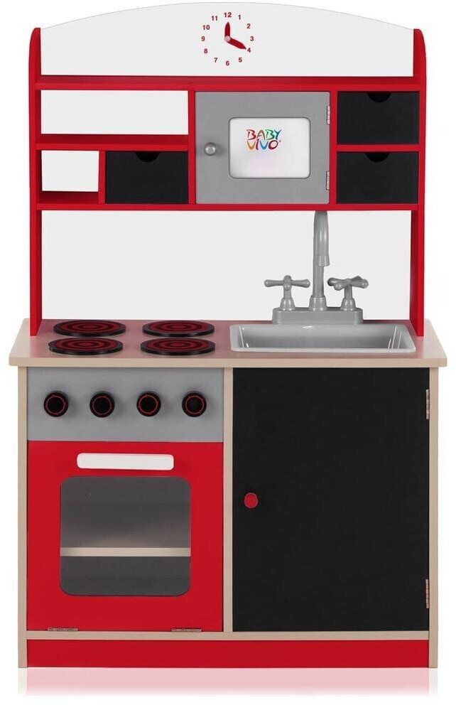 Baby Vivo Kinderküche Mila rot