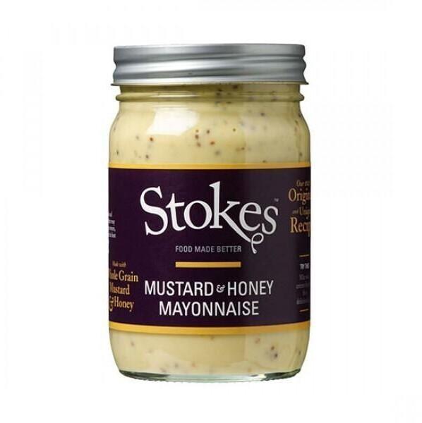 Stokes Mustard Honey Mayonnaise (360ml)