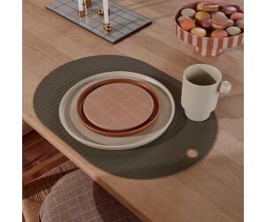 OYOY Ribbo Tischset oval, oliv