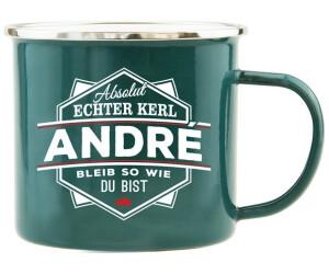 HTI-Living Becher Echter Kerl Emaille Becher André
