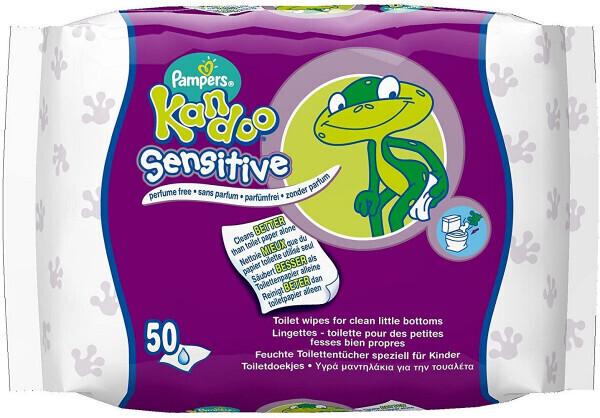 Pampers Kandoo Sensitive Feuchttücher (12 x 50 Stück)
