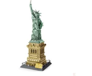 Wange Die Freiheitsstatue in New York  (5227)