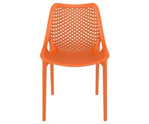 CLP AIR Garten-Stapelstuhl orange