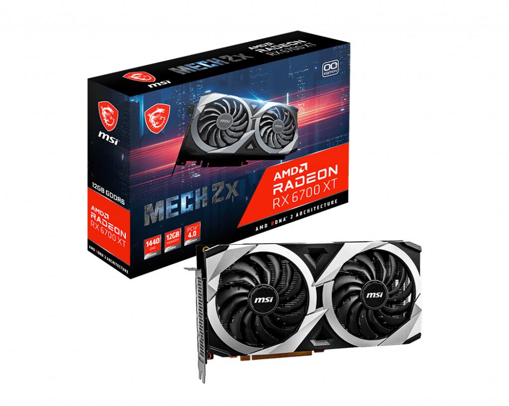 MSI Radeon RX 6700 XT