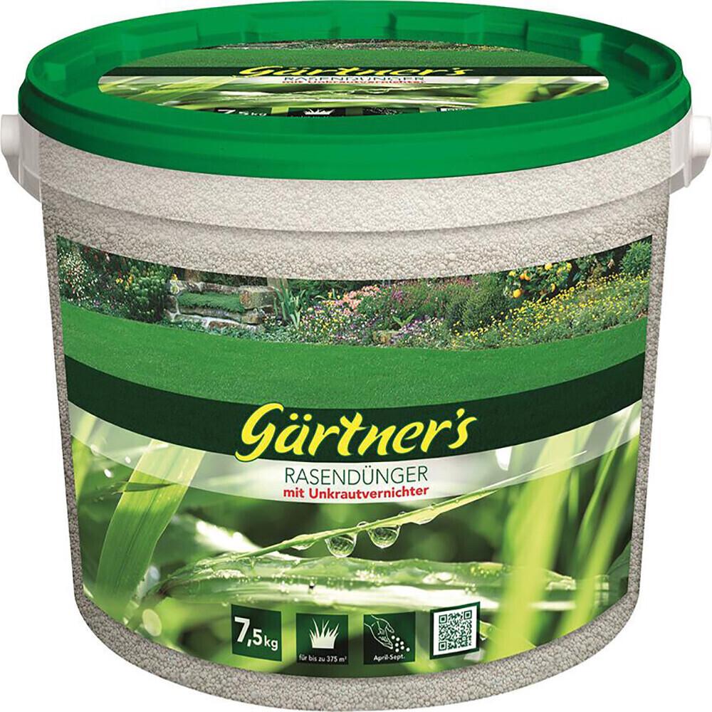 Gärtner's Rasendünger mit Unkrautvernichter 7,5 kg