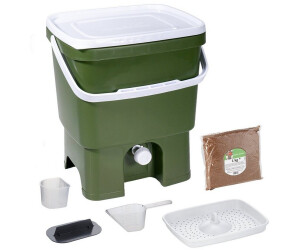 Skaza Exceeding Expectations Bokashi Organko (16 L) mit 1 kg EM Ferment grün